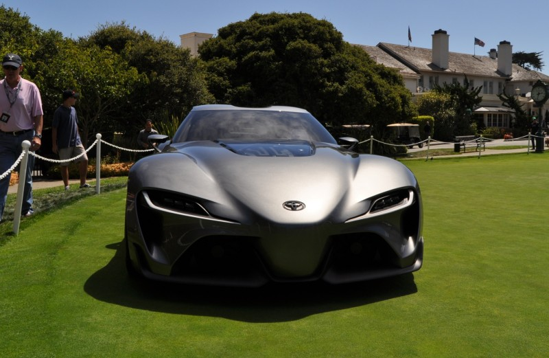 Car-Revs-Daily.com 2014 Toyota FT-1 Concept Version Two Grey Pebble Beach 65