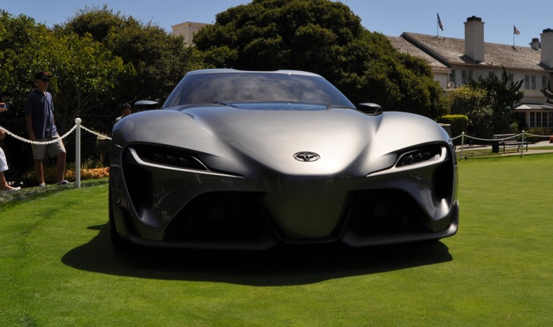 Car-Revs-Daily.com 2014 Toyota FT-1 Concept Version Two Grey Pebble Beach 66