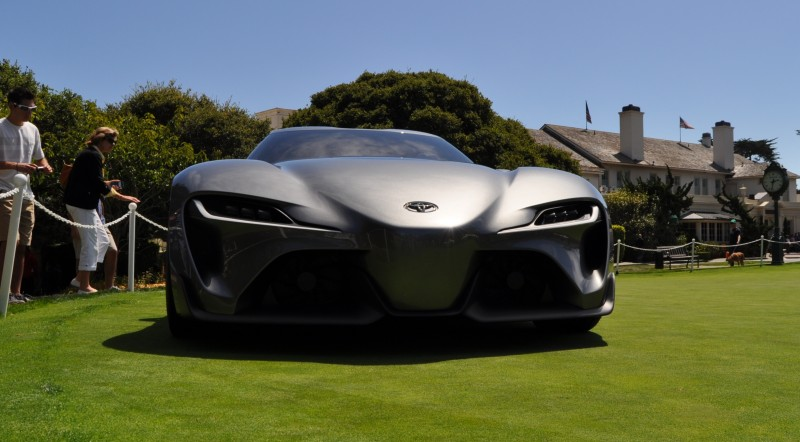 Car-Revs-Daily.com 2014 Toyota FT-1 Concept Version Two Grey Pebble Beach 67