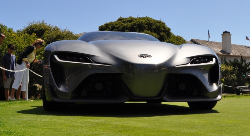 Car-Revs-Daily.com 2014 Toyota FT-1 Concept Version Two Grey Pebble Beach 68