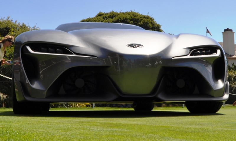 Car-Revs-Daily.com 2014 Toyota FT-1 Concept Version Two Grey Pebble Beach 69