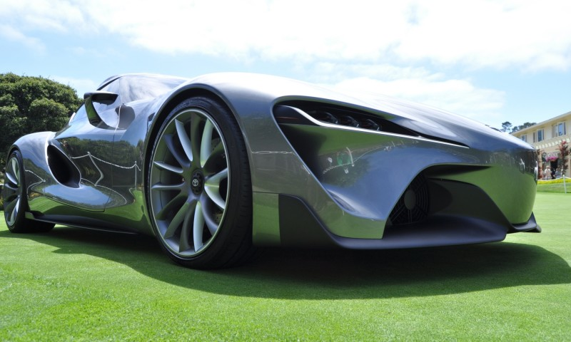 Car-Revs-Daily.com 2014 Toyota FT-1 Concept Version Two Grey Pebble Beach 7
