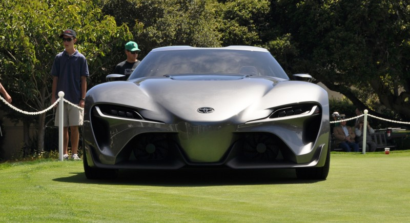 Car-Revs-Daily.com 2014 Toyota FT-1 Concept Version Two Grey Pebble Beach 70