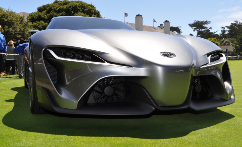 Car-Revs-Daily.com 2014 Toyota FT-1 Concept Version Two Grey Pebble Beach 72