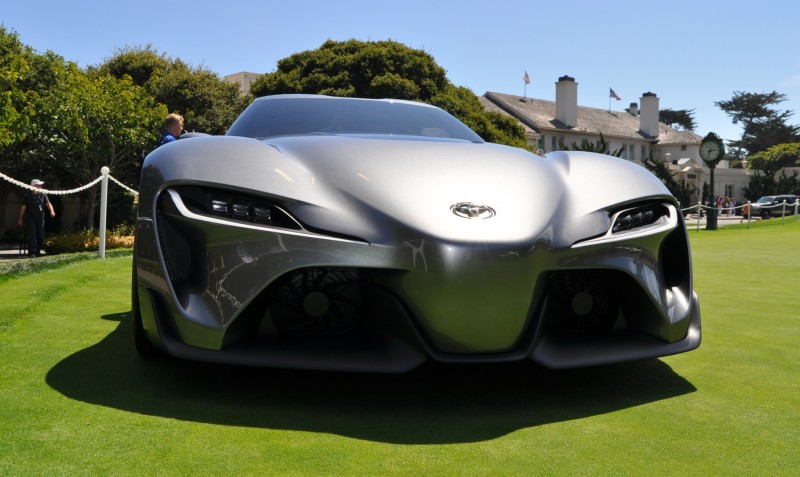 Car-Revs-Daily.com 2014 Toyota FT-1 Concept Version Two Grey Pebble Beach 73