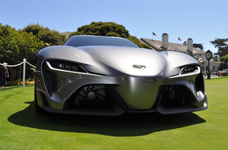 Car-Revs-Daily.com 2014 Toyota FT-1 Concept Version Two Grey Pebble Beach 74