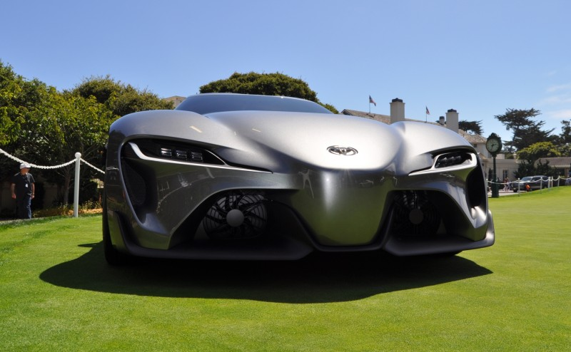 Car-Revs-Daily.com 2014 Toyota FT-1 Concept Version Two Grey Pebble Beach 75