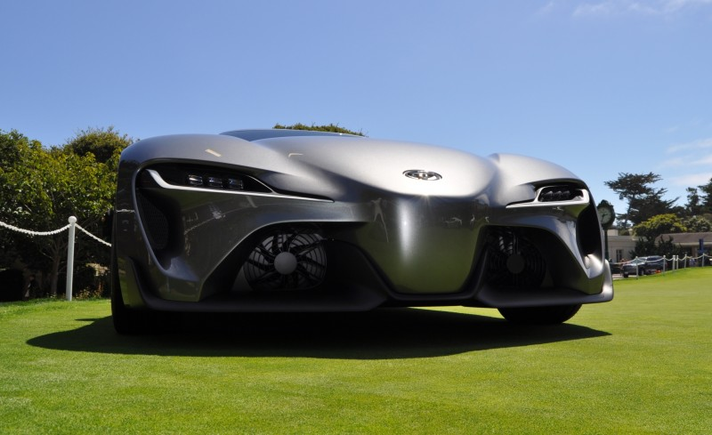 Car-Revs-Daily.com 2014 Toyota FT-1 Concept Version Two Grey Pebble Beach 77