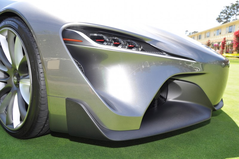 Car-Revs-Daily.com 2014 Toyota FT-1 Concept Version Two Grey Pebble Beach 79