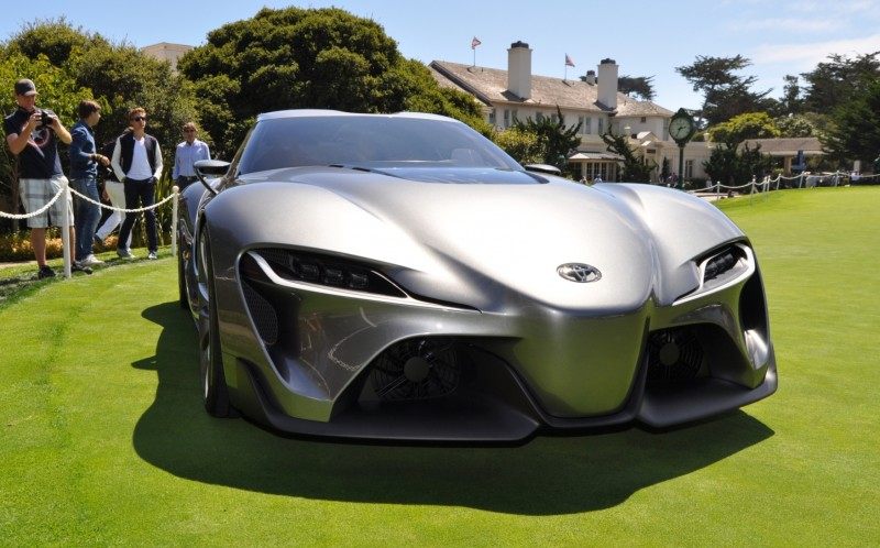 Car-Revs-Daily.com 2014 Toyota FT-1 Concept Version Two Grey Pebble Beach 85