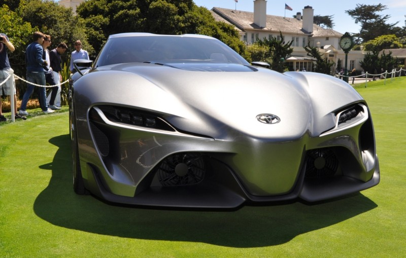 Car-Revs-Daily.com 2014 Toyota FT-1 Concept Version Two Grey Pebble Beach 86