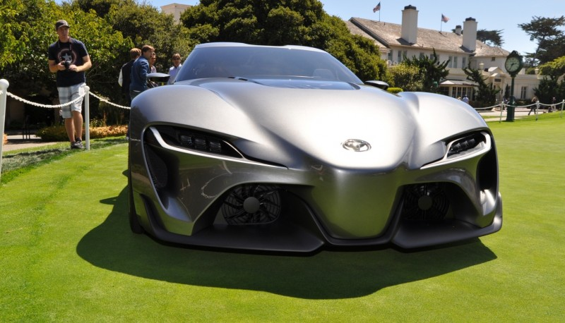 Car-Revs-Daily.com 2014 Toyota FT-1 Concept Version Two Grey Pebble Beach 87
