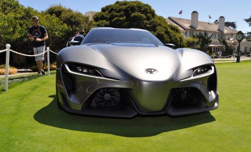 Car-Revs-Daily.com 2014 Toyota FT-1 Concept Version Two Grey Pebble Beach 88