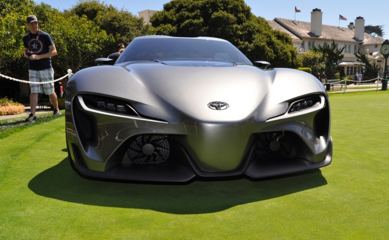 Car-Revs-Daily.com 2014 Toyota FT-1 Concept Version Two Grey Pebble Beach 89