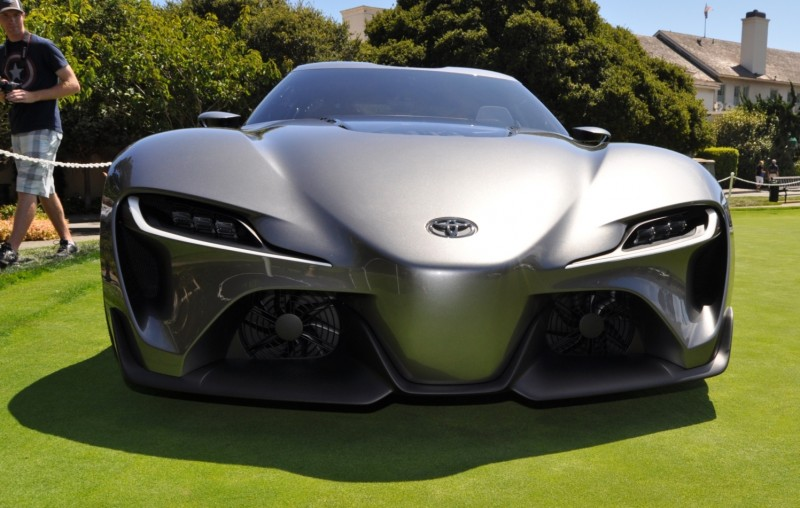 Car-Revs-Daily.com 2014 Toyota FT-1 Concept Version Two Grey Pebble Beach 90