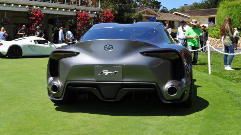 Car-Revs-Daily.com 2014 Toyota FT-1 Concept Version Two Grey Pebble Beach 93