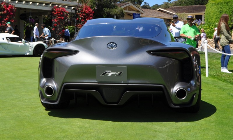 Car-Revs-Daily.com 2014 Toyota FT-1 Concept Version Two Grey Pebble Beach 94