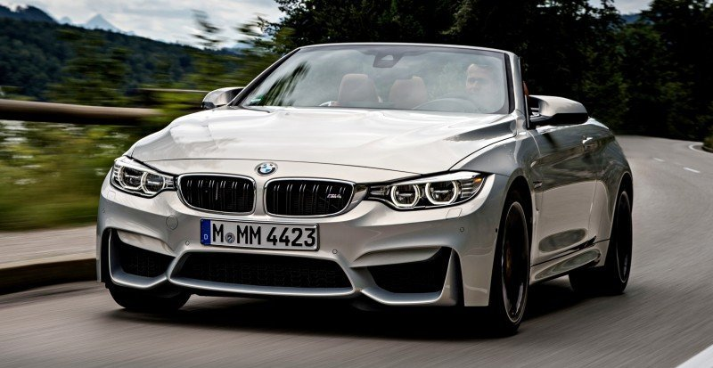 Car-Revs-Daily.com 2015 BMW M4 Convertible 35