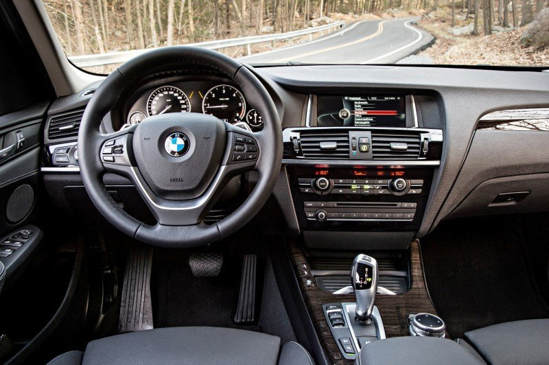 Car-Revs-Daily.com 2015 BMW X3 xLine 45