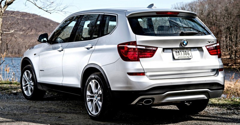 Car-Revs-Daily.com 2015 BMW X3 xLine 50