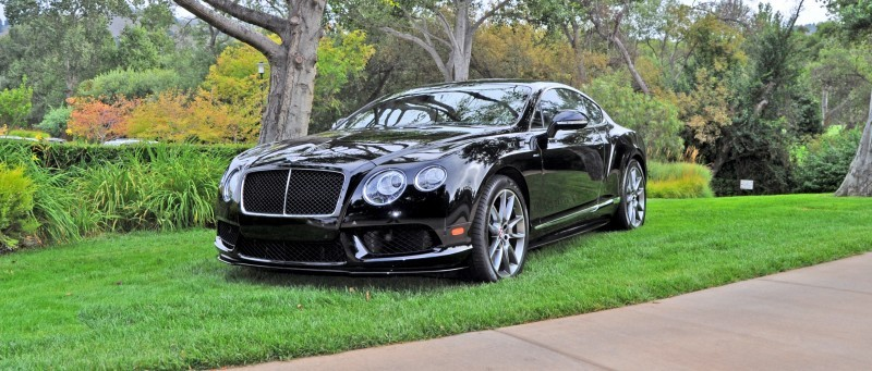 Superbe ... Car Revs Daily.com 2015 Bentley Continental GT V8S Is Stunning In Black  ...