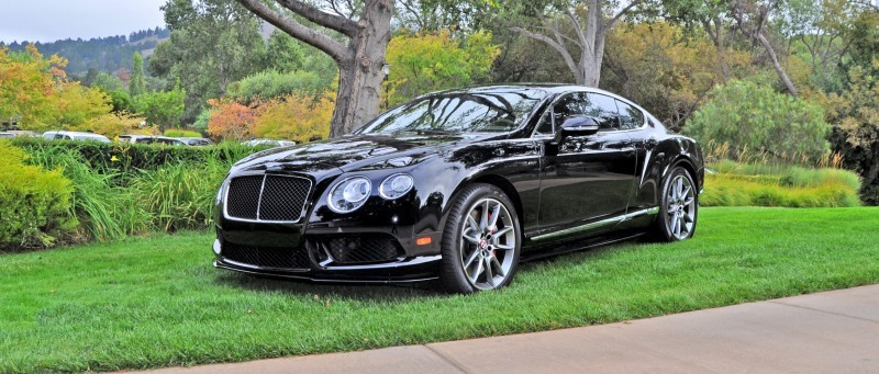 Car-Revs-Daily.com 2015 Bentley Continental GT V8S Is Stunning in Black Crystal Paintwork 14
