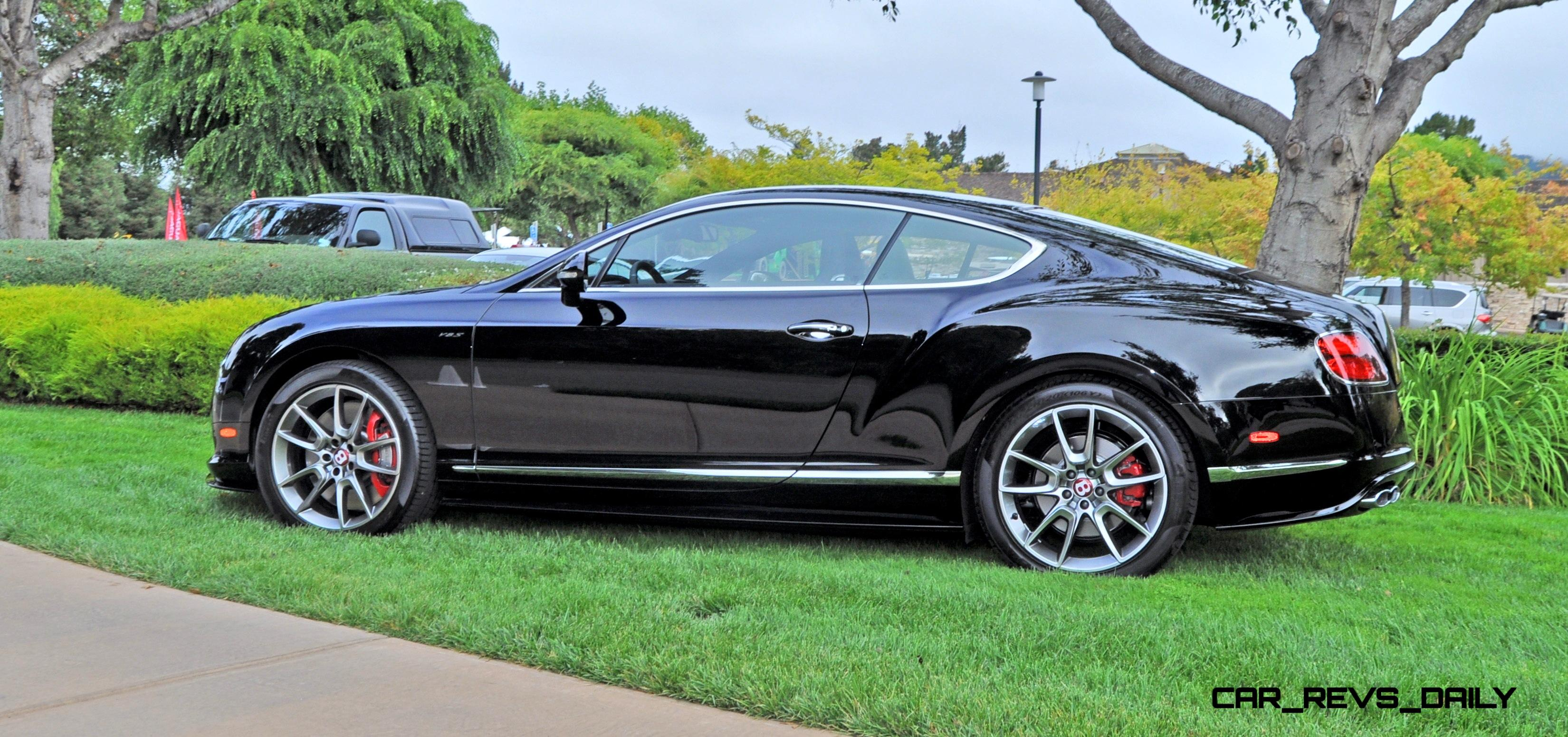 Car Revs Daily.com 2015 Bentley Continental GT V8S Is Stunning In Black  Crystal Paintwork 26