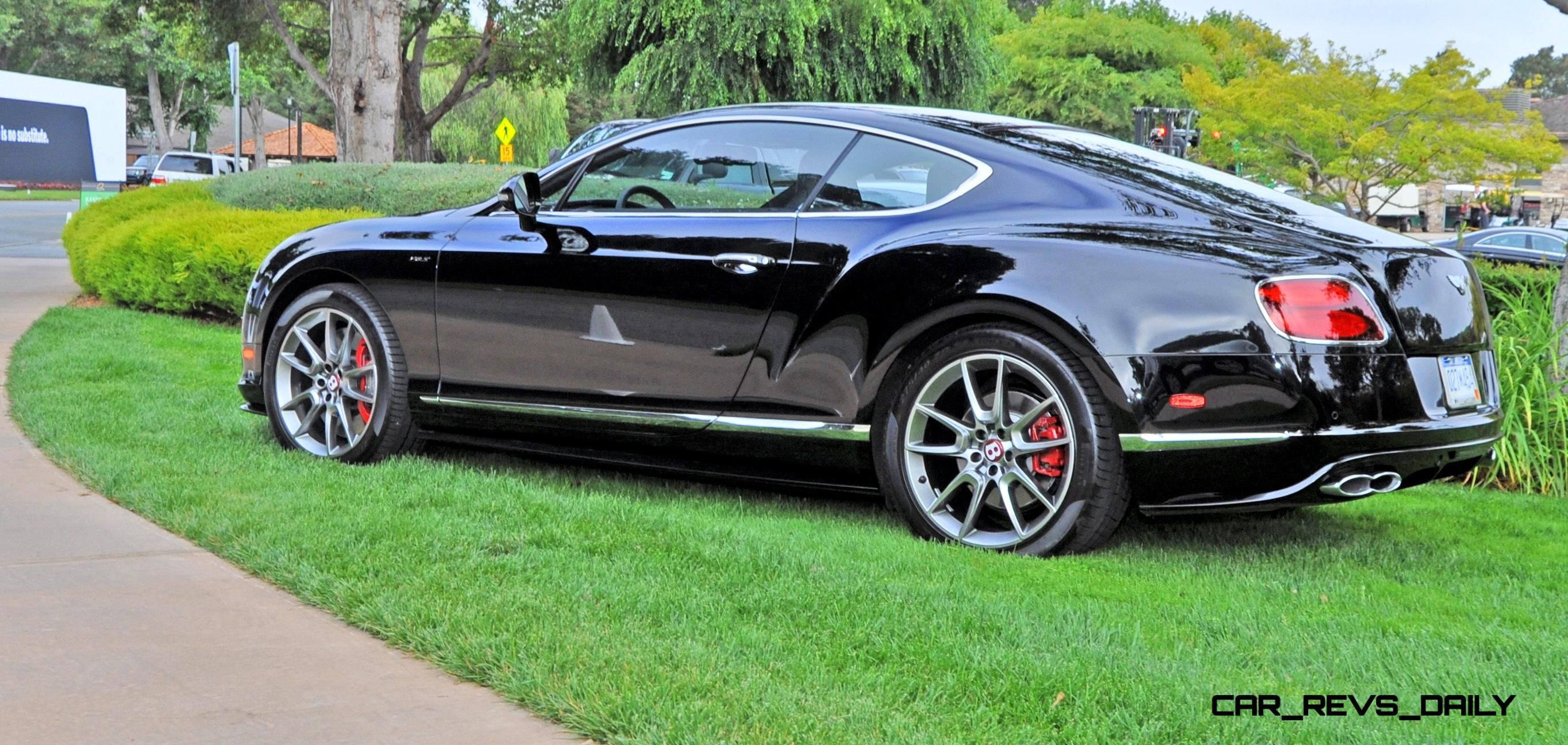Superb Car Revs Daily.com 2015 Bentley Continental GT V8S Is Stunning In Black  Crystal Paintwork 30