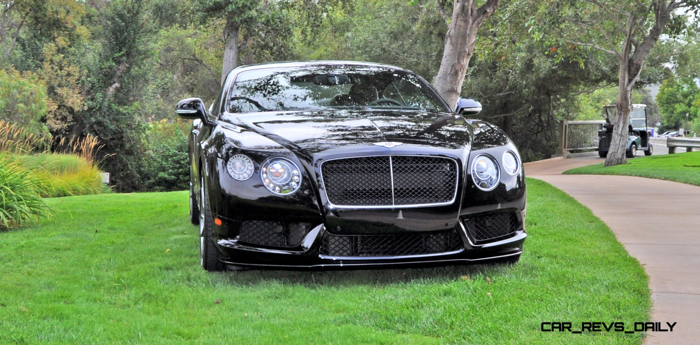 Car Revs Daily.com 2015 Bentley Continental GT V8S Is Stunning In Black  Crystal Paintwork 4