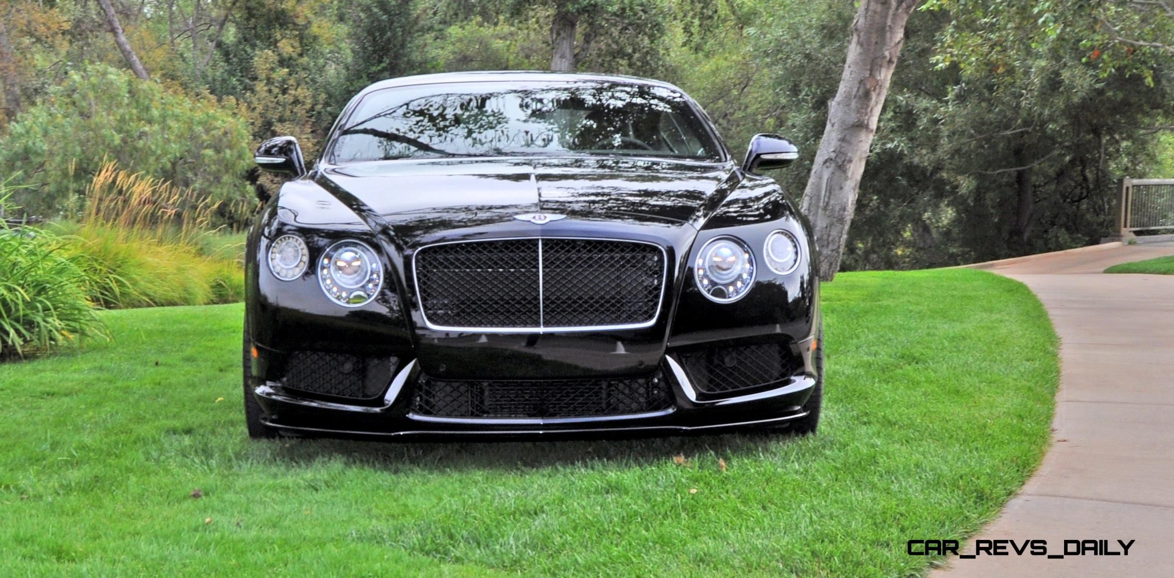 Merveilleux Car Revs Daily.com 2015 Bentley Continental GT V8S Is Stunning In Black  Crystal Paintwork 6