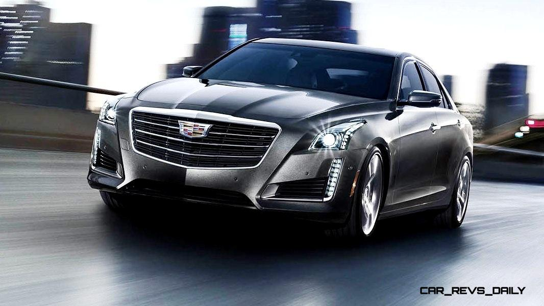 2015 Cadillac CTS Updated With New Badges, LED Brake ...