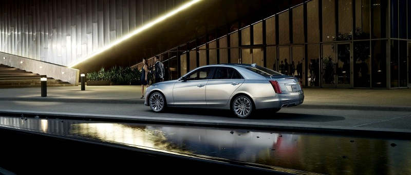 2015 Cadillac CTS Updated With New Badges, LED Brake Lights, Exhaust Details and Cabin Tech 2015 Cadillac CTS Updated With New Badges, LED Brake Lights, Exhaust Details and Cabin Tech