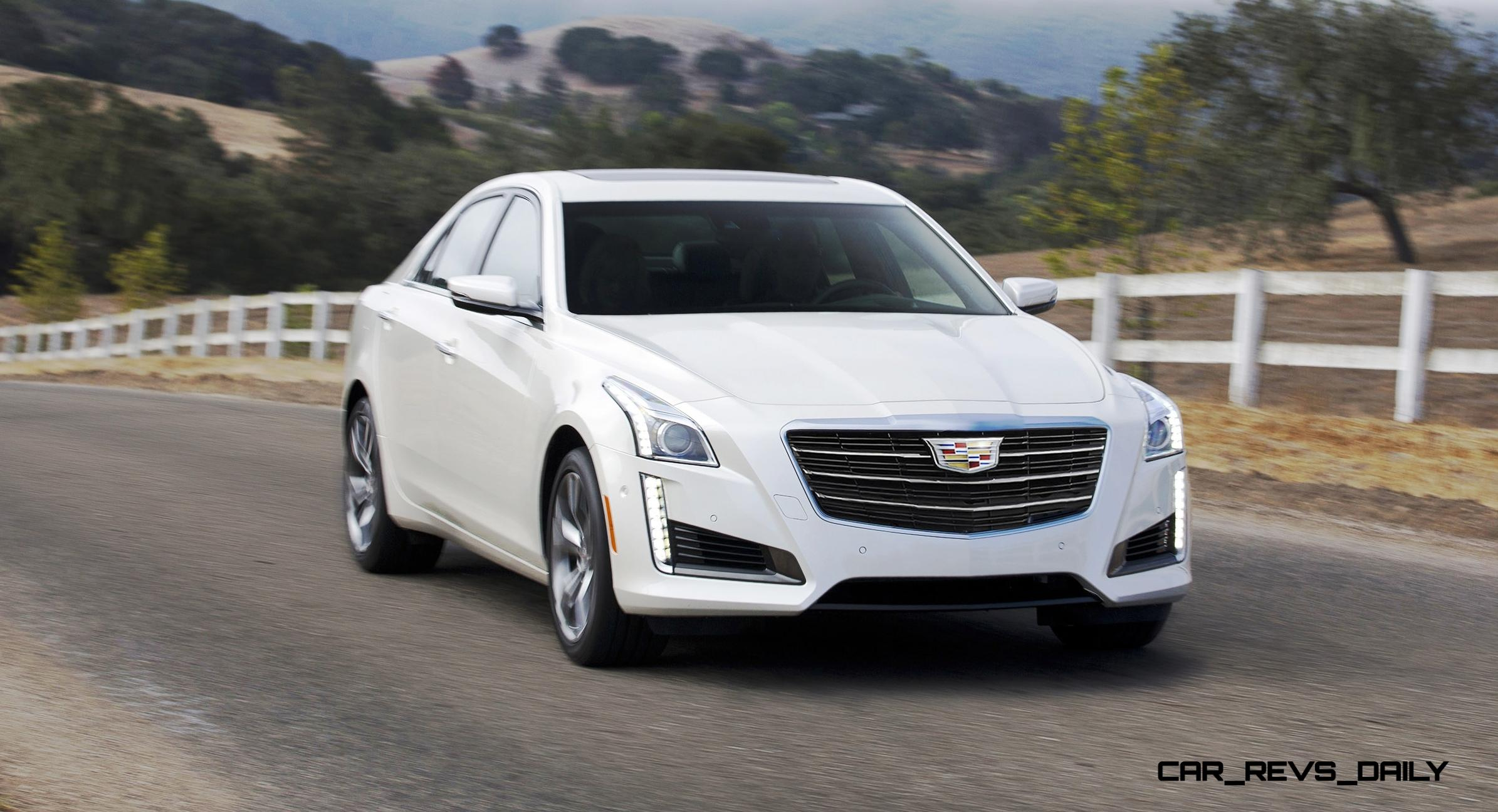 2015 Cadillac Cts Updated With New Badges Led Brake