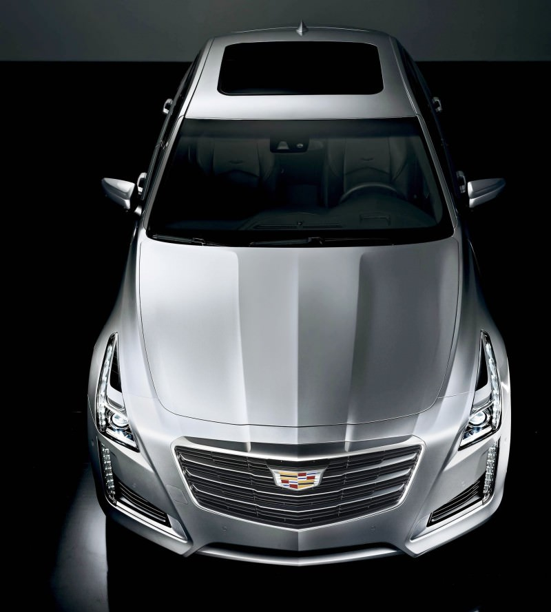 2014 Cadillac Cts Interior: 2015 Cadillac CTS Updated With New Badges, LED Brake