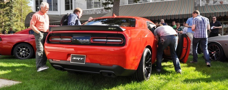Car-Revs-Daily.com - 2015 Dodge Challenger SRT Hellcat Debut Photos and Video 38