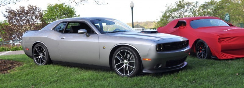 Car-Revs-Daily.com - 2015 Dodge Challenger SRT Hellcat Debut Photos and Video 8