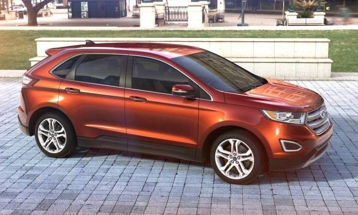 Car-Revs-Daily.com 2015 Ford Edge - BRONZE 28