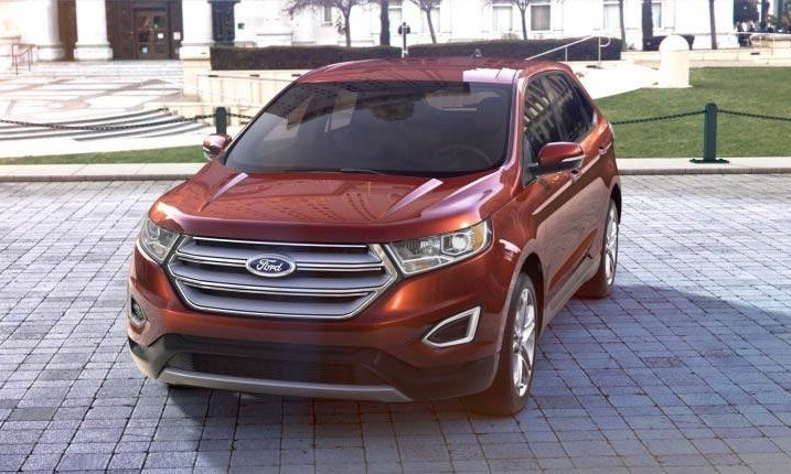 Car-Revs-Daily.com 2015 Ford Edge - BRONZE 36