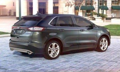 car revs daily 2015 ford edge - 2015 Ford Edge Guard