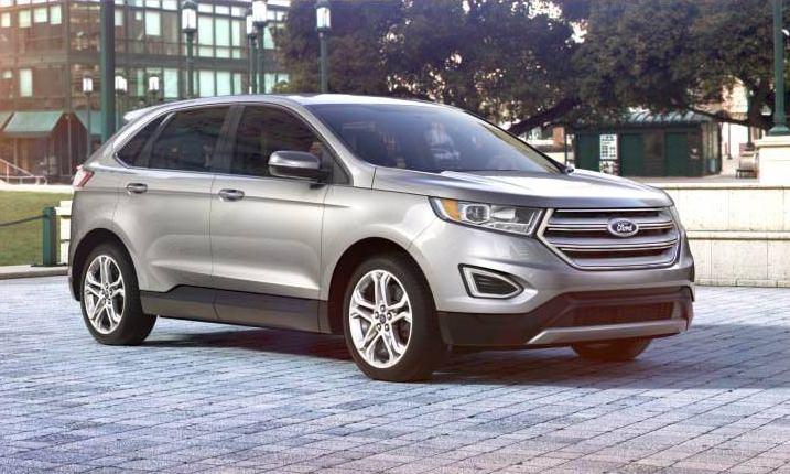 Car Revs Daily Com 2015 Ford Edge Ingot Silver 30