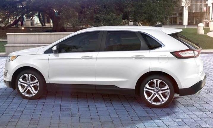 white 2015 ford edge - 2015 Ford Edge Guard