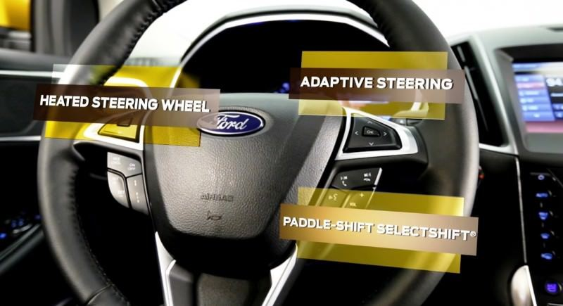 Car-Revs-Daily.com 2015 Ford Edge Sport and Titanium INTERIOR 18