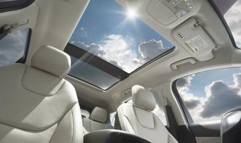Car-Revs-Daily.com 2015 Ford Edge Sport and Titanium INTERIOR 30