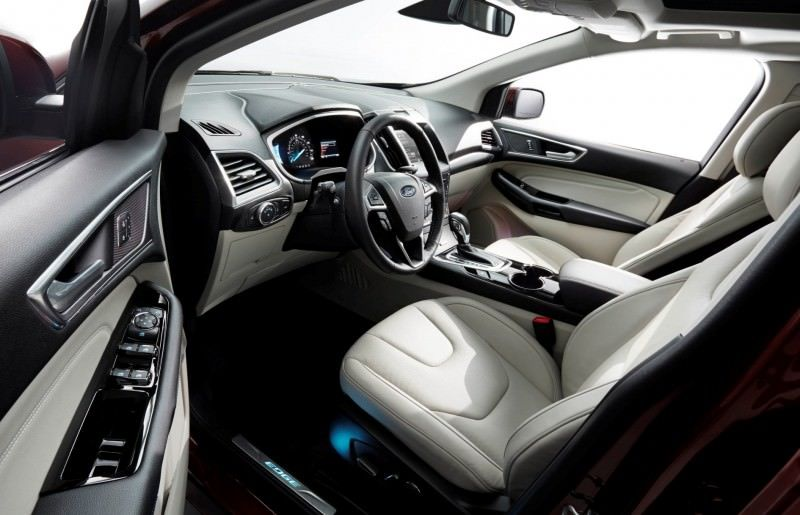 Car-Revs-Daily.com 2015 Ford Edge Sport and Titanium INTERIOR 31