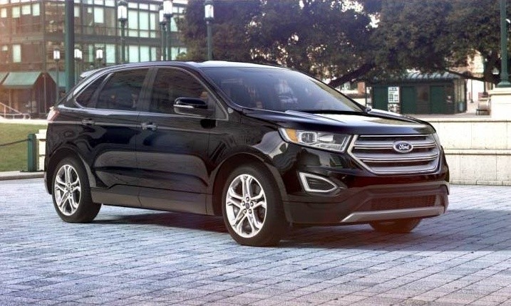 Car Revs Daily Com 2015 Ford Edge Tuxedo Black 31 Jpg