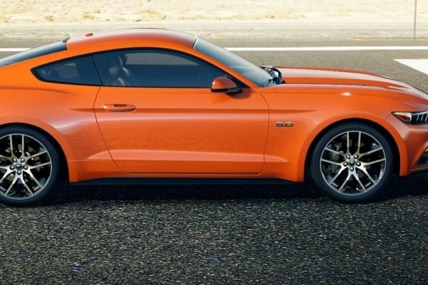 Car-Revs-Daily.com 2015 Ford Mustang - COMPETITION ORANGE 26 » Car ...
