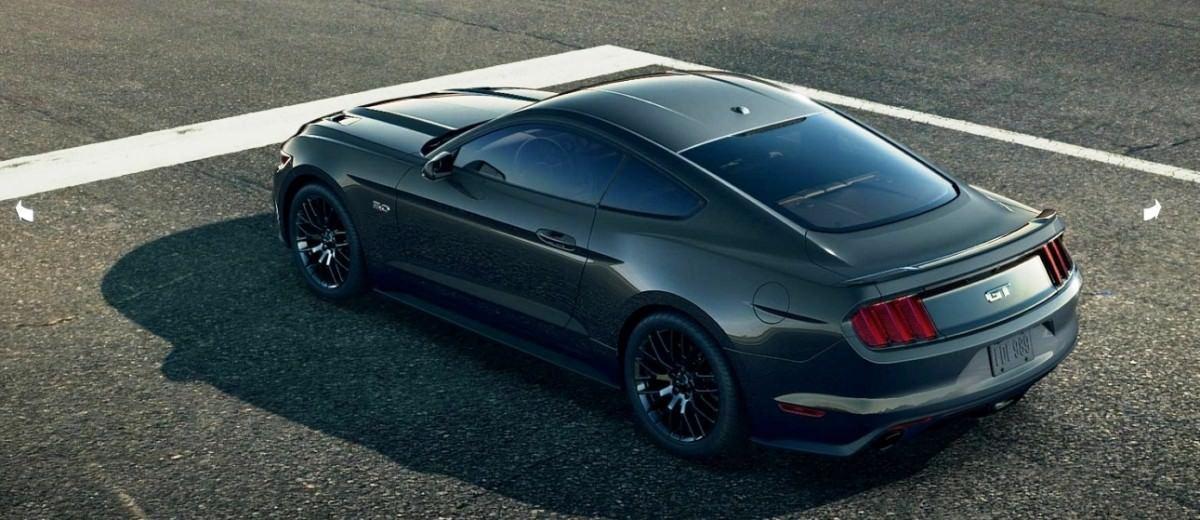car revs 2015 ford mustang guard green 23. Black Bedroom Furniture Sets. Home Design Ideas