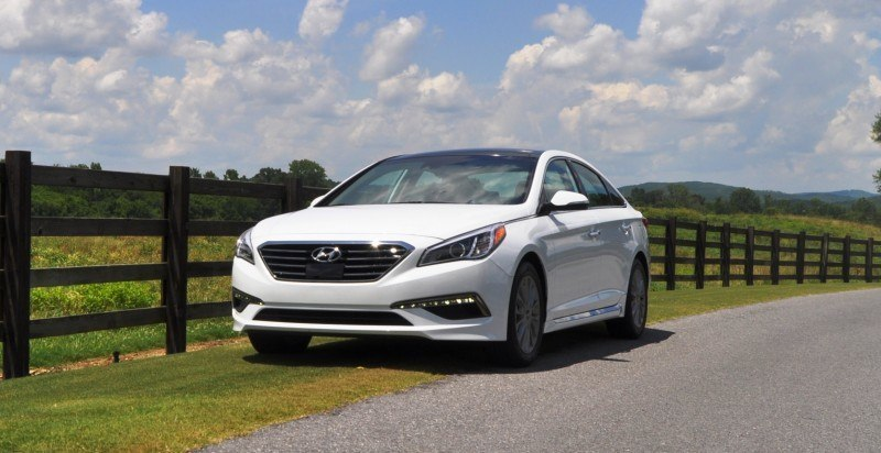 Car-Revs-Daily.com 2015 HYUNDAI SONATA LIMITED REVIEW 136