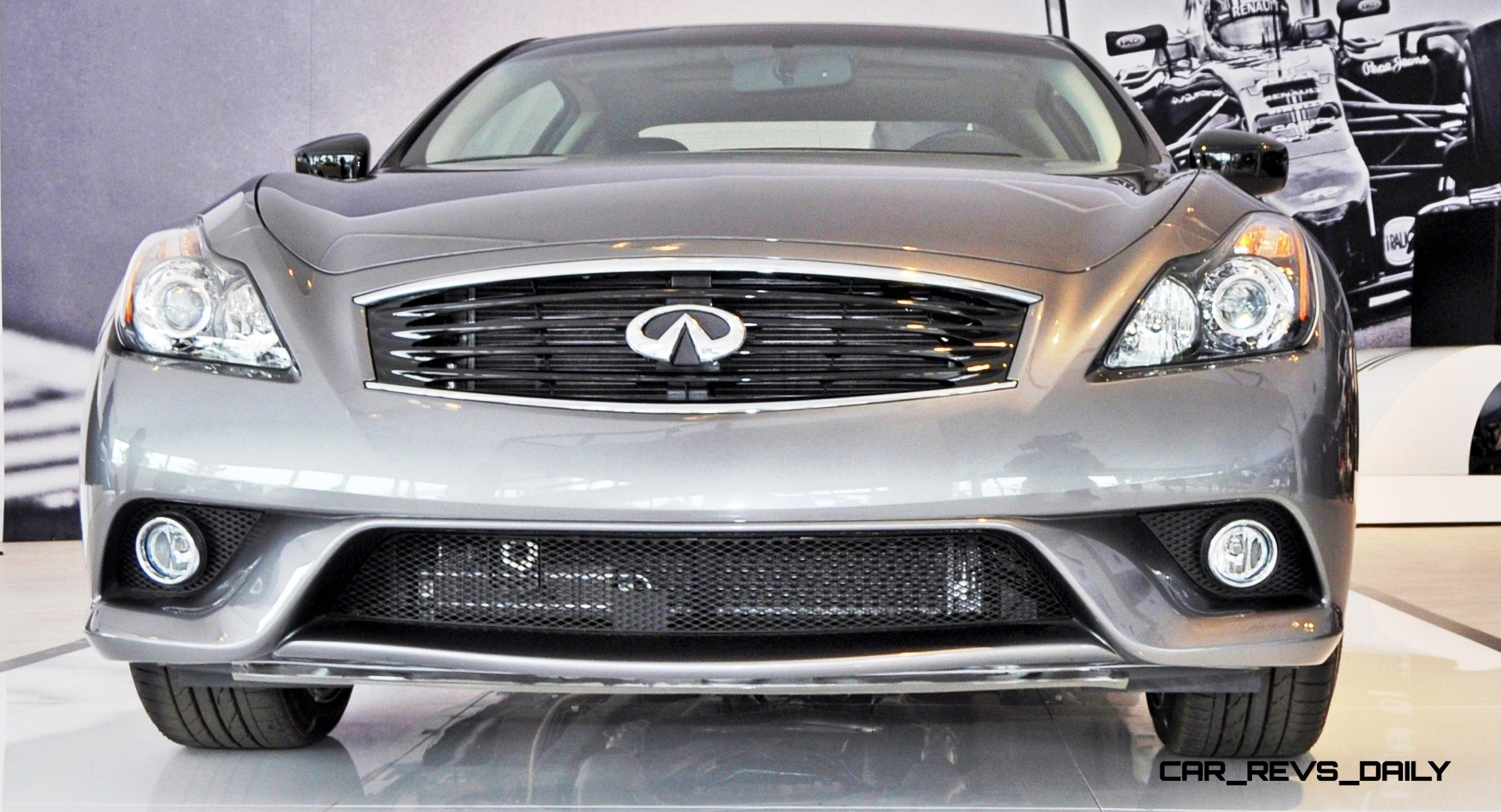 2015 Infiniti Q60s Reveals Its Sexy Gloss Black Accents At