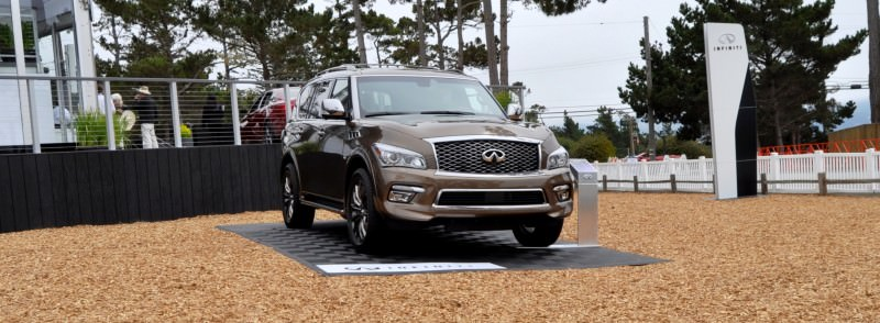 Car-Revs-Daily.com 2015 INFINITI QX80 Limited Pebble Beach 1